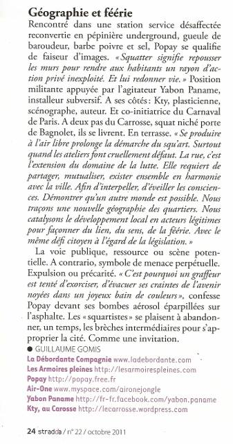 Publication Stradda