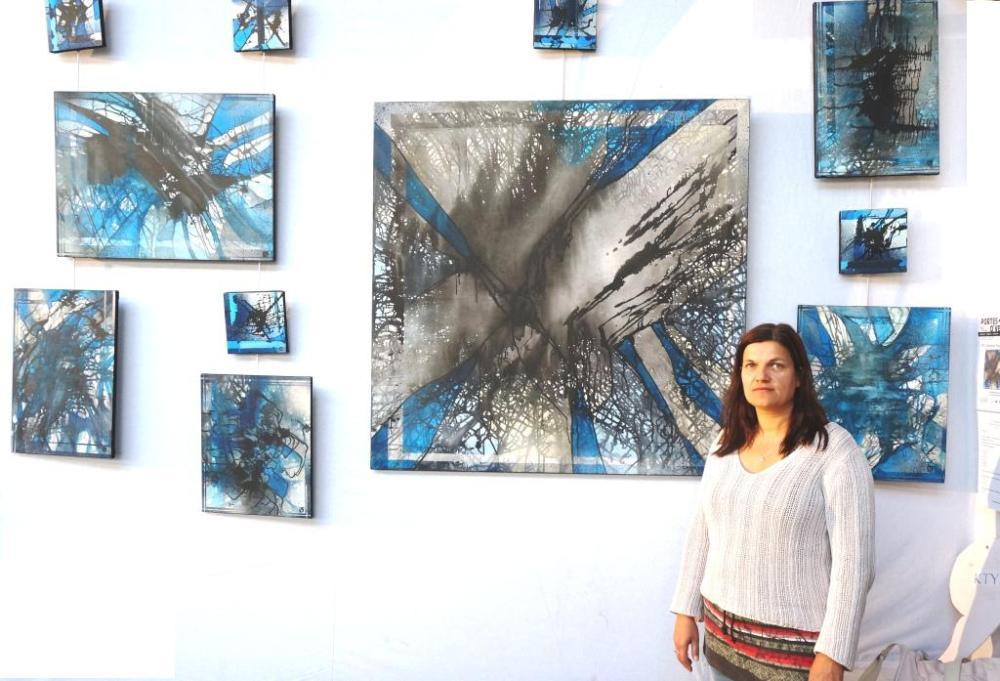 Explosion bleue par KTY Catherine Poulain