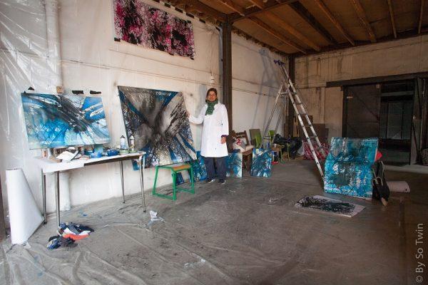 Catherine Poulain, atelier nomade